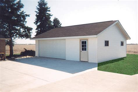 garage with workshop 26 w x 30 l x 9 h garage with shingled roof at menards 174