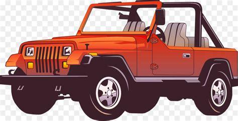 jeep clip jeep wrangler car clip jeep suvs vector