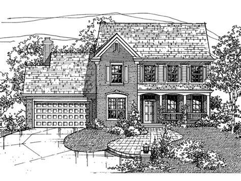 mcfadden floor plan mcfadden traditional home plan 072d 0104 house plans and