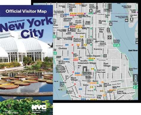 sightseeing map of nyc sightseeing map of new york maps and guides travel maps