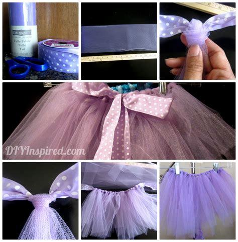 How To Make Handmade Tutus - diy no sew tutu diy inspired
