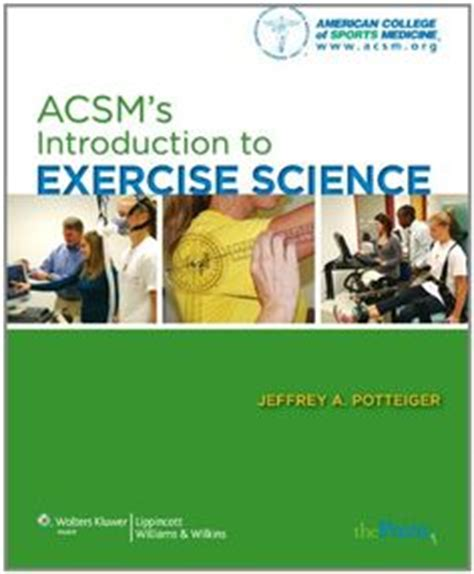 acsm s introduction to exercise science books 1000 images about acsm on fitness trainer