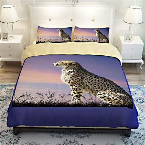 cheetah print twin comforter 3d animal cheetah print bedding sets twin queen king size