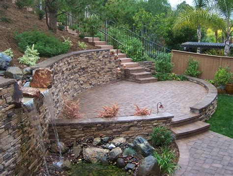 how to build a patio wall home design ideas and pictures