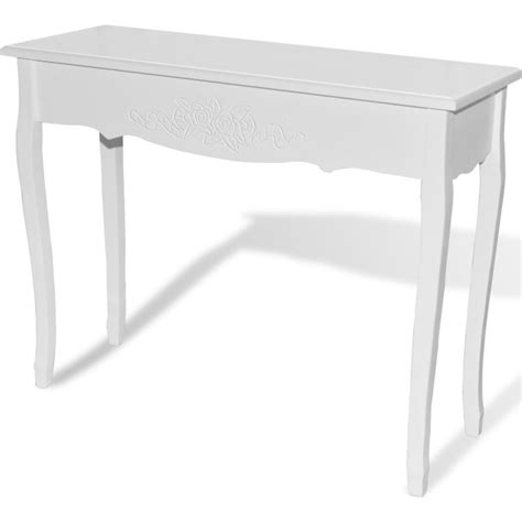 provincial console table provincial console hallway table in white buy