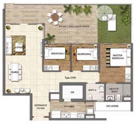 Residensea Floor Plans
