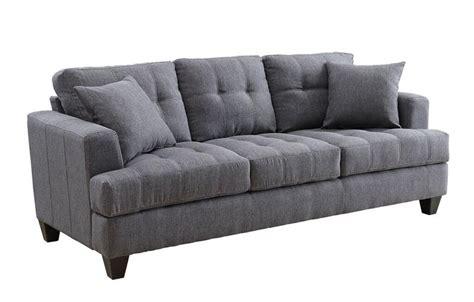 charcoal sofa set charcoal samuel sofa set collection coaster 505175