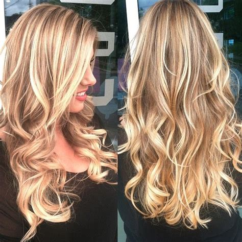 blond highlights 2014 beachy blonde highlights on top color melt everything