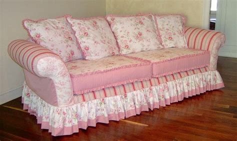 pink loveseat slipcover best 20 shabby chic sofa ideas on pinterest cottage