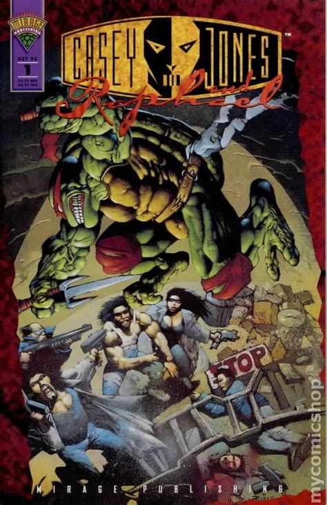 raphael books casey jones and raphael 1994 comic books
