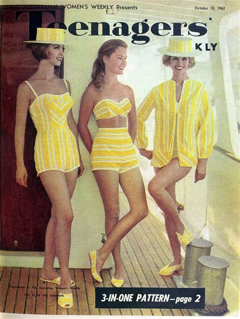 6140 Dress Fashion to sew teenagers weekly 1962 play wear