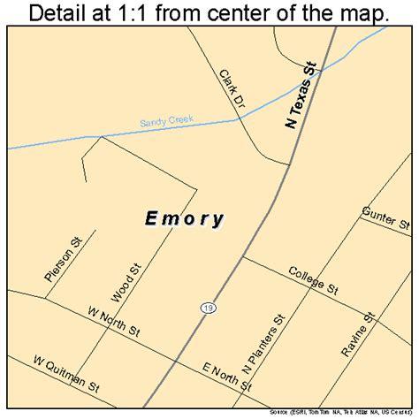 emory texas map emory texas map 4824216