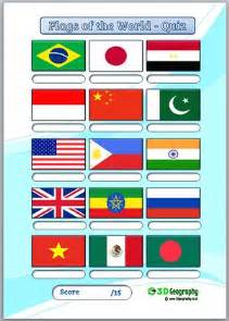 flags of the world quizzes