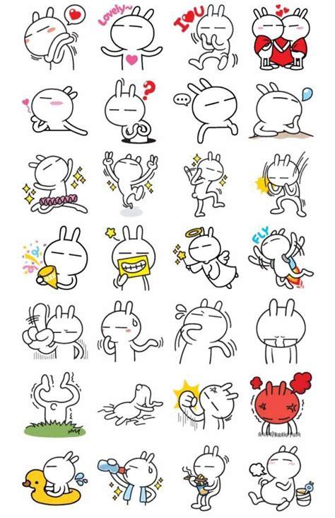 Sticker Tuzki 23 24 best tuzki bunnies images on bunnies drawings and rabbits