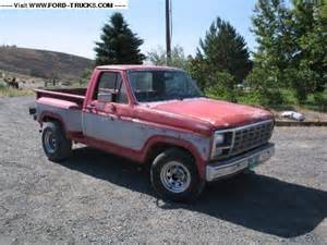 80 Ford Truck 1980 Ford F150 4x2 Zac S 80 Stepside