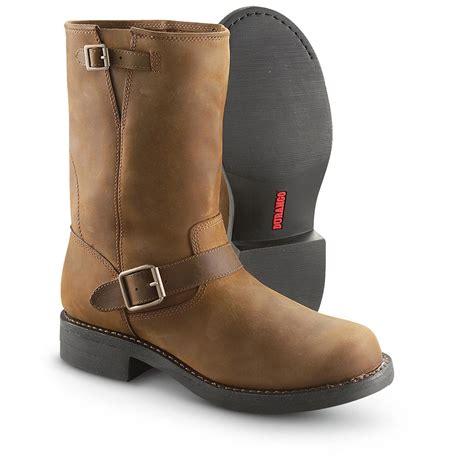 """Men's Durango Boot® 10"""" Engineer Boots, Coffee   222259"""
