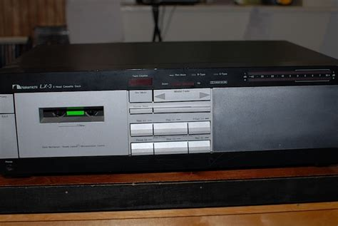 nakamichi lx 3 cassette deck nakamichi lx 3 welcome to longplayer stereo center