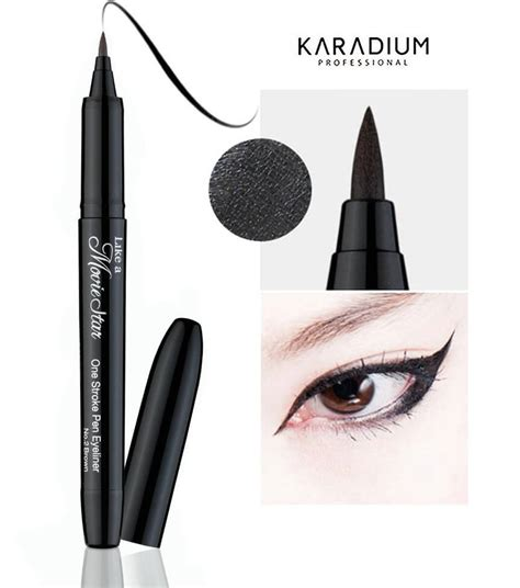 Iaso Attractive Eye Liner kẻ mắt karadium one stroke pen eyeliner giang