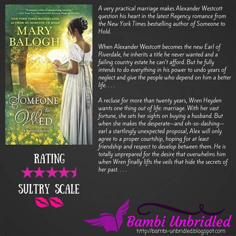 someone to wed a westcott novel unbridled arc review someone to wed by balogh