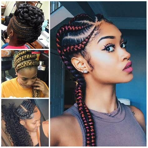 Pictures Of Best Hairstyles For 2017 by Goddess Braids Hairstyles For 2017 Hairstyles 2018 New