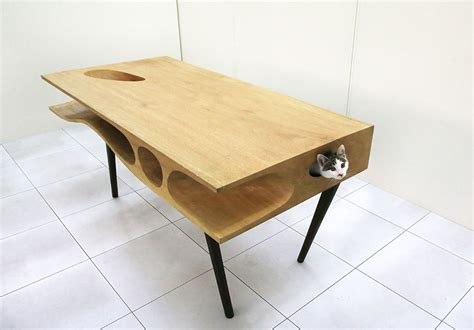 beach sand under the work desk furniture mommyessence com 15 cool tables that will take your interior to the next level