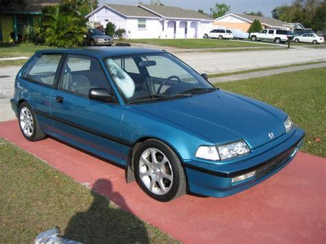 Honda Civic 91 by 91 Civic Hatch S 1991 Honda Civic In Orlando Fl