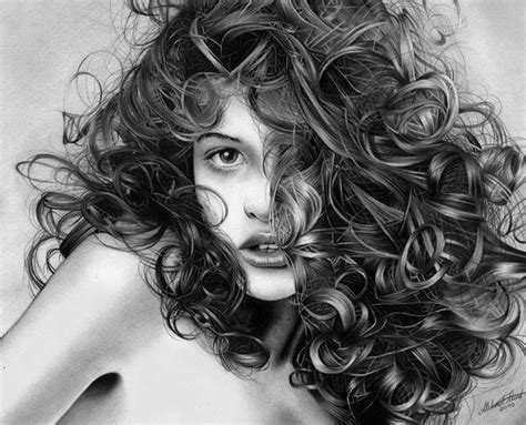 drawing curly hair amazing pencil drawings of hair fine art blogger