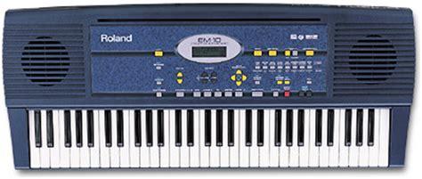 Keyboard Roland Em Roland Em 10 Image 259242 Audiofanzine