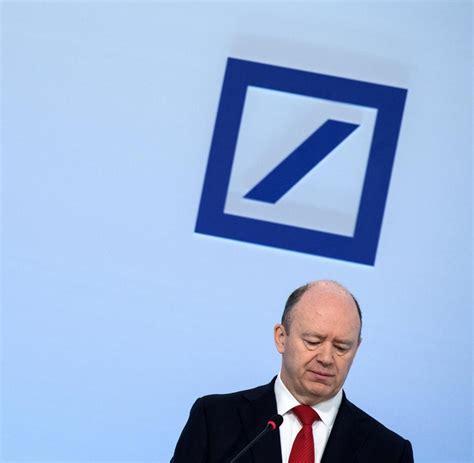 deutsche bank bilanz paul achleitner ich bewerbe mich nicht darum welt