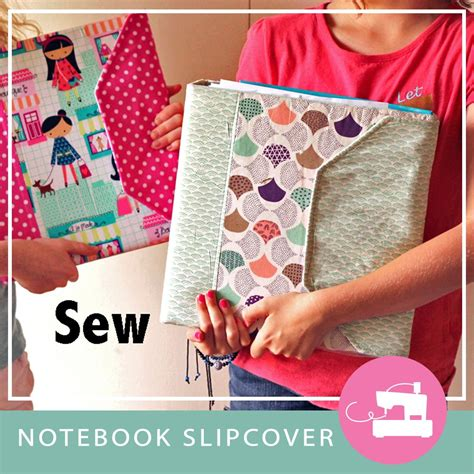 notebook slipcover pattern notebook slipcover pdf sewing pattern gingercake