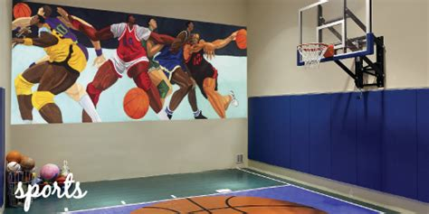 sports wall murals sports murals murals your way