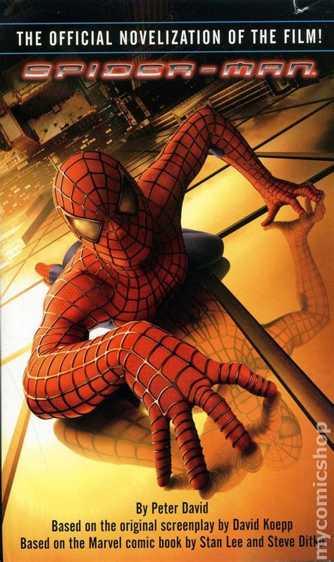 film with cartoon books spider man pb 2002 novel the official novelization of