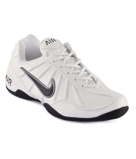 leather sport shoes nike white synthetic leather sport shoes price in india