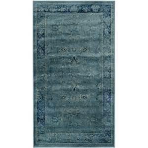 Safavieh Vintage Turquoise Viscose Rug Safavieh Vintage Turquoise Viscose Rug 3 3 X 5 7