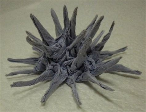 Origami Sea Urchin - 166 best images about origami on paper