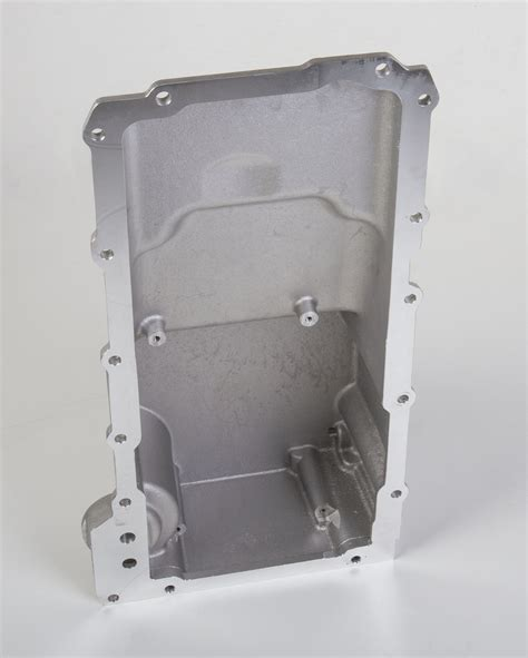 vintage electric oil ls holley ls retro fit oil pan additional front clearance