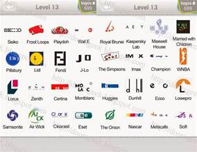 logo quiz level 13 answers by bubble quiz games answers
