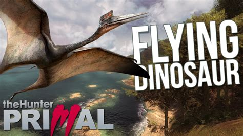 Free Hunting Giveaways - the hunter primal full release flying dinosaur quetzalcoatlus hunting giveaway