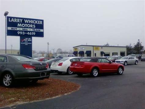 larry whicker motors kernersville nc larry whicker motors car dealership in kernersville nc