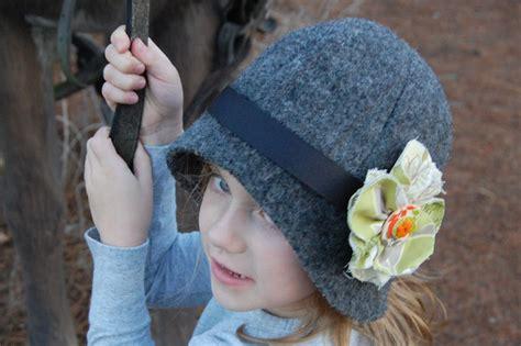 pattern for felt cloche hat make a cloche hat