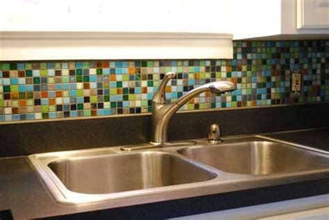 multi color backsplash tile glass tile kitchen backsplash pictures imagine the
