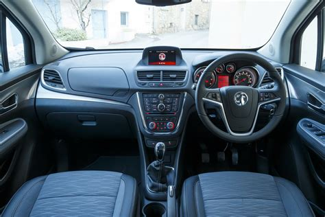 vauxhall mokka interior vauxhall s mokka gets a new 1 6l diesel and we ve driven
