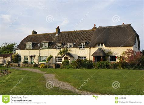 Quayside Cottages by Quayside Cottages At Porlock Weir Stock Photo Image