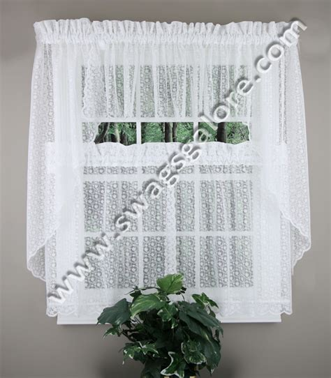 drapes charlotte nc charlotte lace tiers swags white united jabot