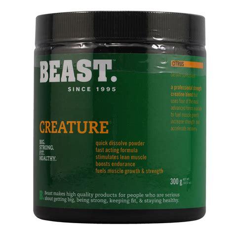 b creature creatine beast creature creatine 300g sportitude