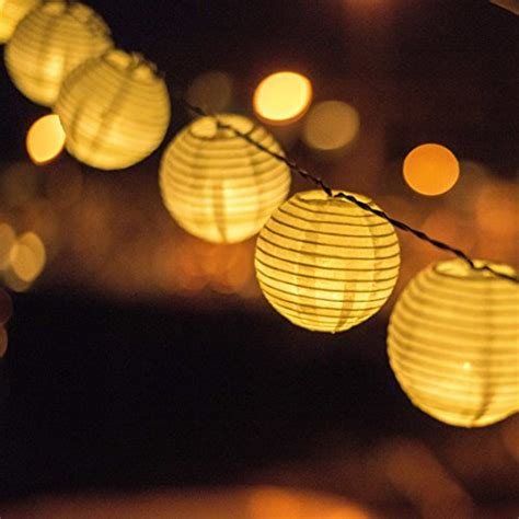 Solar Powered Patio String Lights Solar Powered Lanterns String Lights Outdoor Lighting 25 Import It All