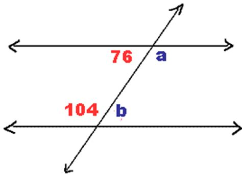 What Is An Interior Angle by Geometry Alternate Interior Angles Math Homework