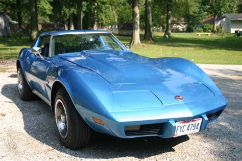 1975 chevrolet corvette stingray l48 coupe c3 t top 5 7l must see call now classic chevrolet 1975 chevy corvette stingray l48 original engine fresh paint