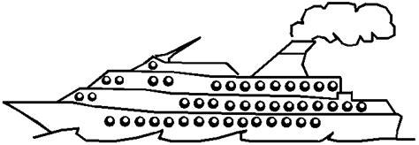 dessin bateau simple bateau en dessin simple a faire