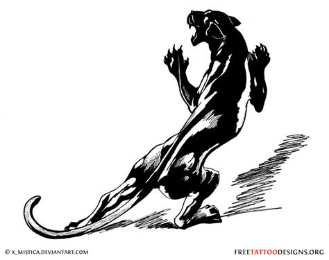 black panther tattoo design panther tattoos black panther designs